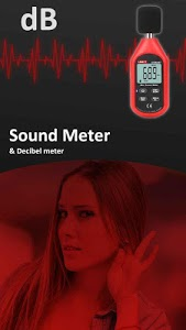 screenshot of Measure Sound Sound Meter and Decibel meter version 1.0