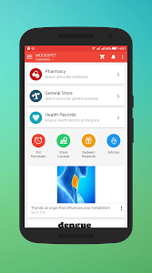 screenshot of MedPlus Mart - Online Medical & General Store version 4.9.6