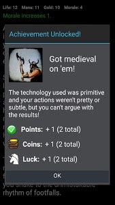 screenshot of Medieval Fantasy RPG (Choices Game) version 8.0