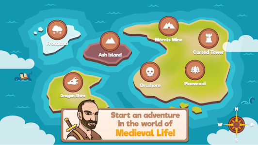 screenshot of Medieval Life version 2.0