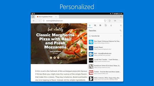screenshot of Microsoft Edge version 42.0.2.3768