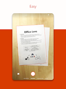 screenshot of Microsoft Office Lens - PDF Scanner version 16.0.11328.20012