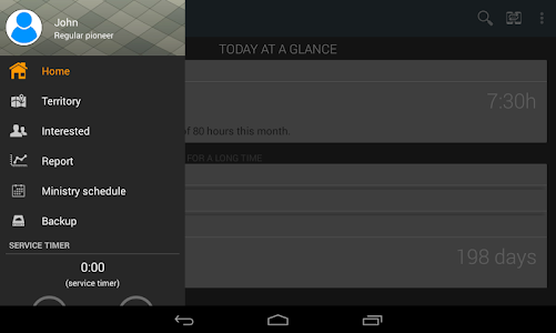 screenshot of Ministry Assistant version 3.1.4
