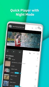 screenshot of Mint Player - 4K & HD Video Player & Media Player version 1.1
