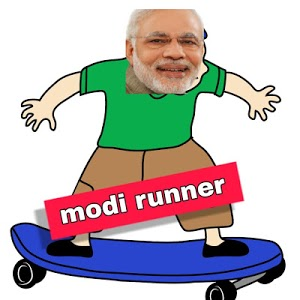 screenshot of Modi Runner-election game(play and earn) #gopop version 3.0
