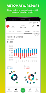 screenshot of Money Lover: Money Manager, Budget Expense Tracker version 4.0.6.2020010810