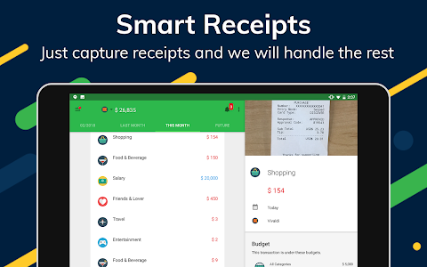 screenshot of Money Lover: Expense Manager & Budget Planner version 3.8.52.2018121609