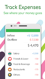screenshot of Money Lover: Expense Manager, Budget & Saving App version android-2.6.61