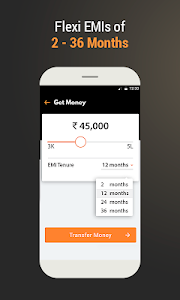 screenshot of MoneyTap - India's 1st Credit Line App version 2.8.4