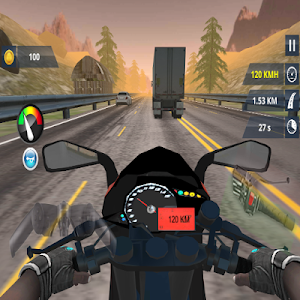 screenshot of Motorcycle Racing : Traffic Racer 2019 version 1.0.3