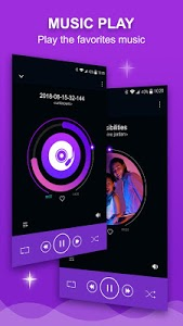 screenshot of Music player version 1.3.4