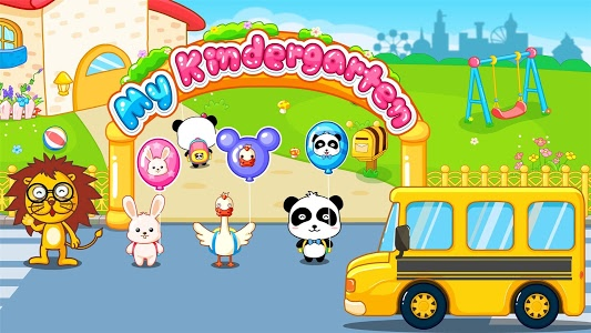 screenshot of My Kindergarten - Panda Games version 8.48