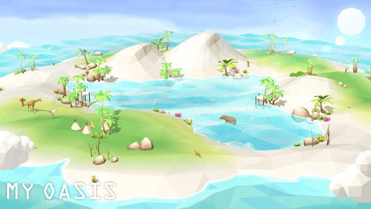 screenshot of My Oasis Season 2 : Calming and Relaxing Idle Game version 2.007