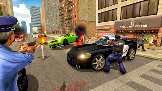 screenshot of NY Police Bike City Gangster Chase version 1.0.3