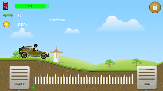 screenshot of Non Stop Racing version 1.1