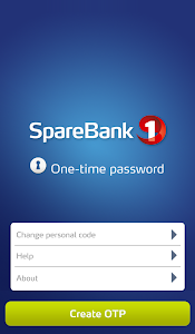 screenshot of One time password (OTP) version 2.5.13