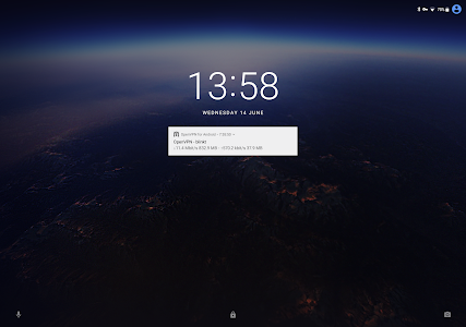 screenshot of OpenVPN for Android version 0.7.8