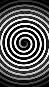 screenshot of Optical Illusions - Spiral Dizzy Moving Effect version 1