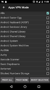 screenshot of Orbot: Proxy with Tor version Varies with device