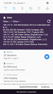 screenshot of Orbot: Tor for Android version 16.1.2-RC-2-tor-0.4.1.5-rc