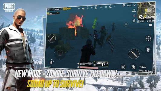 screenshot of PUBG MOBILE version 0.11.0