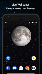 screenshot of Phases of the Moon Free version 5.0.8