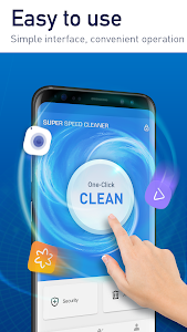 screenshot of Super Phone Cleaner & Antivirus by Hyper Speed version 1.5.9
