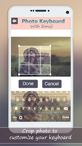 screenshot of Photo Keyboard with Emoji: My Picture Keypad version 3.2.7