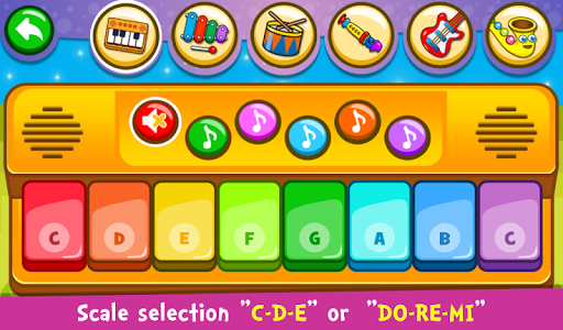 screenshot of Piano Kids - Music & Songs version 2.60