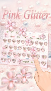 screenshot of Clover Glitter Keyboard version 10001009