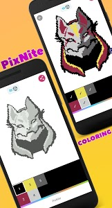 screenshot of PixNite - Color by number version 0.0.5