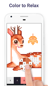 screenshot of Pixel Art: Color by Number version 4.6