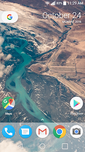 screenshot of Pixel Icon Pack-Nougat Free UI version 2.1.6