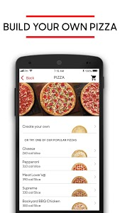 screenshot of Pizza Hut version 5.0.6