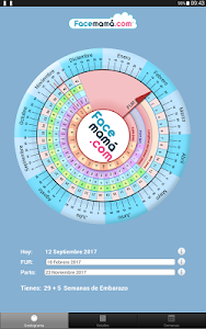 screenshot of Pregnancy Weeks Calculator by Facemama version 1.1.10.4