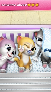 screenshot of Pregnant Talking Cat Emma version 1.9