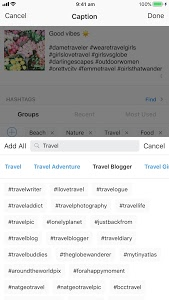 screenshot of Preview - Plan your Instagram version 2.20