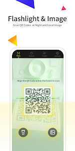 screenshot of QReader- QR Code & Barcode Scanner version 1.2.1