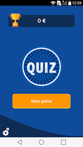 screenshot of Quiz version 1.5.1