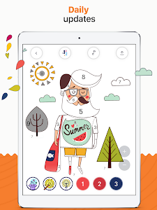 screenshot of RECOLLECT: Color by Number version 1.5.4