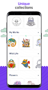 screenshot of RECOLLECT: Color by Number version 1.5.2
