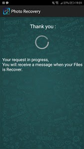 screenshot of Recovery All deleted Photos Pro 2019 version 1.2