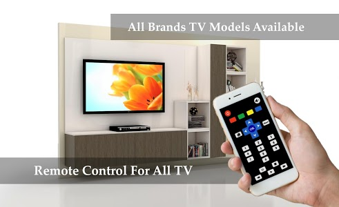 screenshot of Remote Control for all TV - All Remote version 1.0