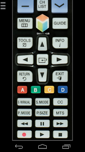 screenshot of Remote for Samsung TV | Smart & WiFi Direct version 1.2.8-release