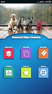 screenshot of Remove Unwanted Object from Photo - Touch Retouch version 14.0.2