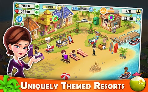 screenshot of Resort Tycoon - Hotel Simulation Game version 7.8