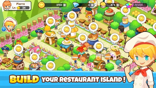 screenshot of Restaurant Paradise: Sim Game version 1.4.1