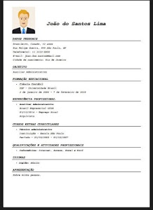 screenshot of Resume Creator - Free version 82.0