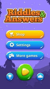screenshot of Riddles and Answers in English version 2.0.2