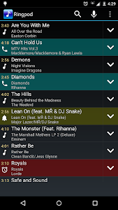screenshot of MP3 Cutter and Ringtone Maker version 1.1.7